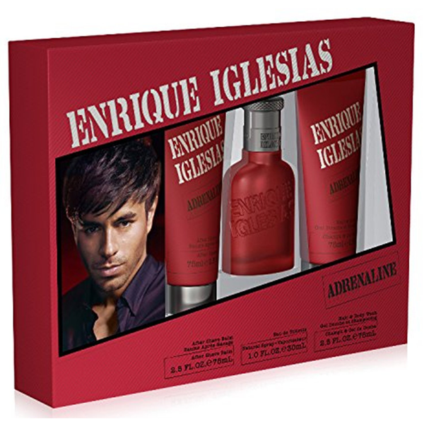 Adrenaline by Enrique Iglesias 30ml EDT 3 Piece Gift Set