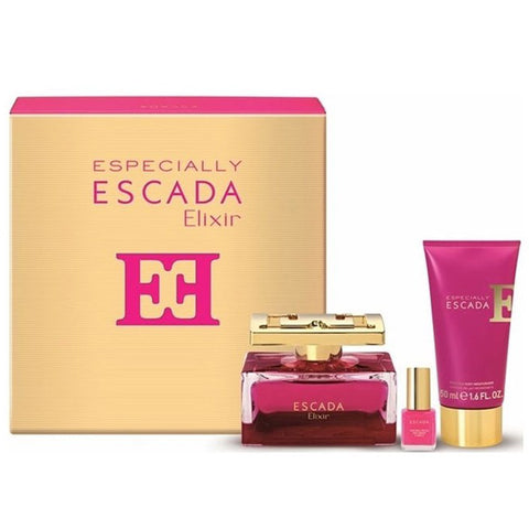 Especially Escada Elixir by Escada 75ml EDP 3 Piece Gift Set