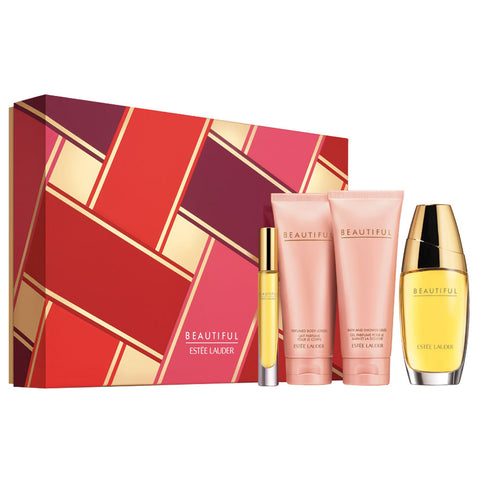 Beautiful by Estee Lauder 75ml EDP 4 Piece Gift Set