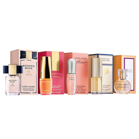 Estee Lauder The Fragrance Collection 5 Piece Gift Set