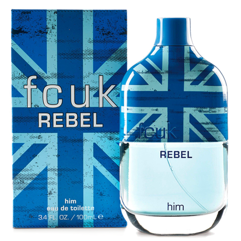 FCUK Rebel by FCUK 100ml EDT for Men