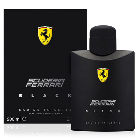 Ferrari Scuderia Black by Ferrari 200ml EDT