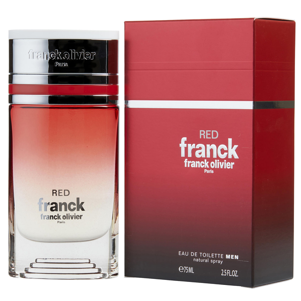 Red Franck by Franck Olivier 75ml EDT for Men