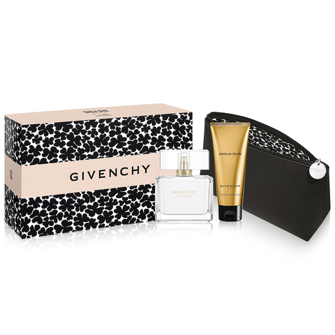 Dahlia Divin Eau Initiale by Givenchy 75ml EDT 3pc Gift Set