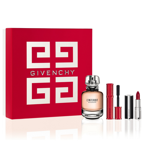 L'Interdit by Givenchy 50ml EDP 3 Piece Gift Set