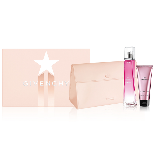 Very Irresistible by Givenchy 75ml EDT 3 Piece Gift Set