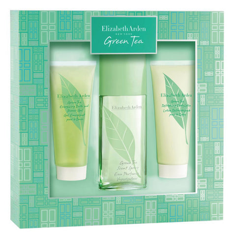 Green Tea by Elizabeth Arden 100ml 3 Piece Gift Set