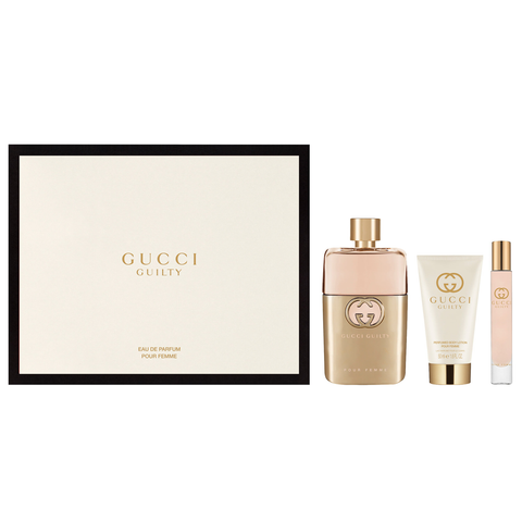 Gucci Guilty Femme by Gucci 90ml EDP 3 Piece Gift Set