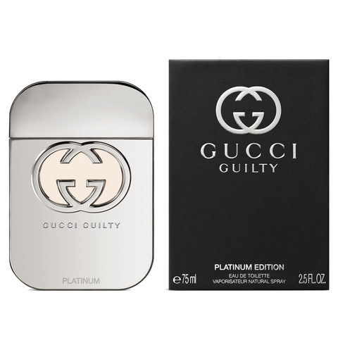 Gucci Guilty Platinum by Gucci 75ml EDT