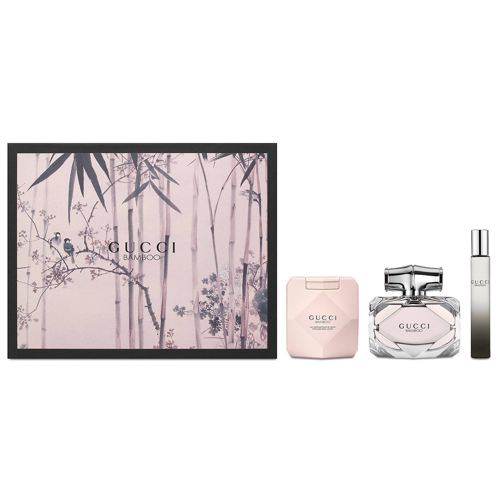 2a4dce6b7 Gucci Bamboo by Gucci 75ml EDP 3 Piece Gift Set | Perfume NZ