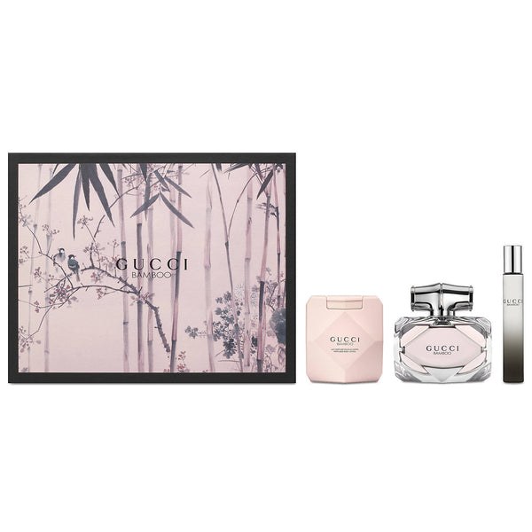 Gucci Bamboo by Gucci 75ml EDP 3 Piece Gift Set