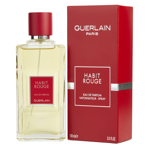 Habit Rouge by Guerlain 100ml EDP for Men