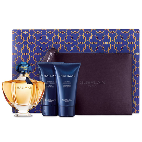 Shalimar by Guerlain 90ml EDT 4 Piece Gift Set