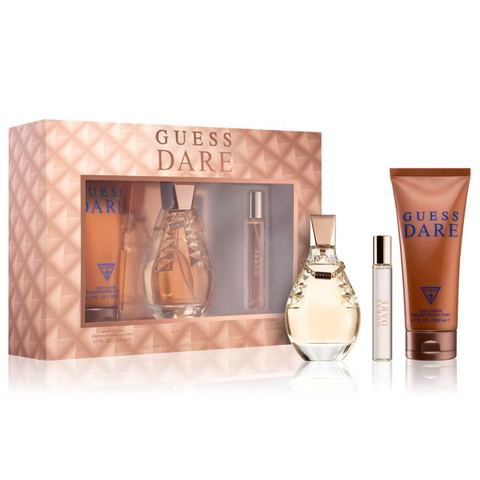 Guess Dare by Guess 100ml EDT 3 Piece Gift Set for Women