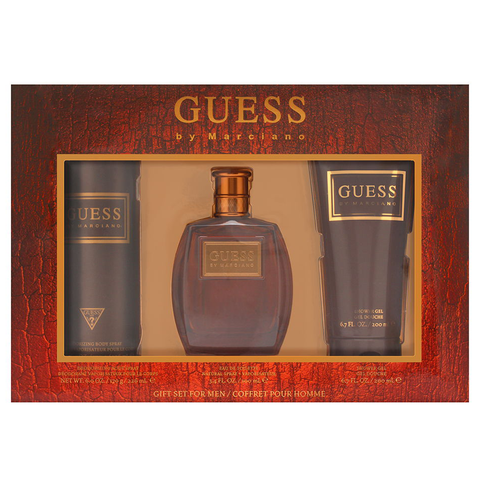 Guess by Marciano 100ml EDT 3 Piece Gift Set for Men
