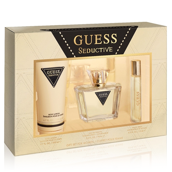 Guess Seductive by Guess 75ml EDT 3 Piece Gift Set