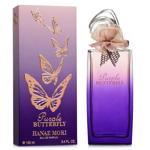 Purple Butterfly by Hanae Mori 100ml EDP
