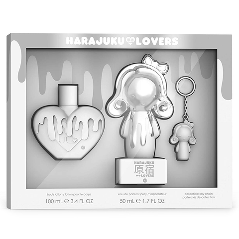 Harajuku Lovers Pop Electric G 50ml EDP 3 Piece Gift Set
