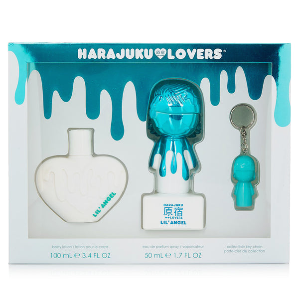 Harajuku Lovers Pop Electric Lil Angel 50ml EDP 3 Piece Gift Set