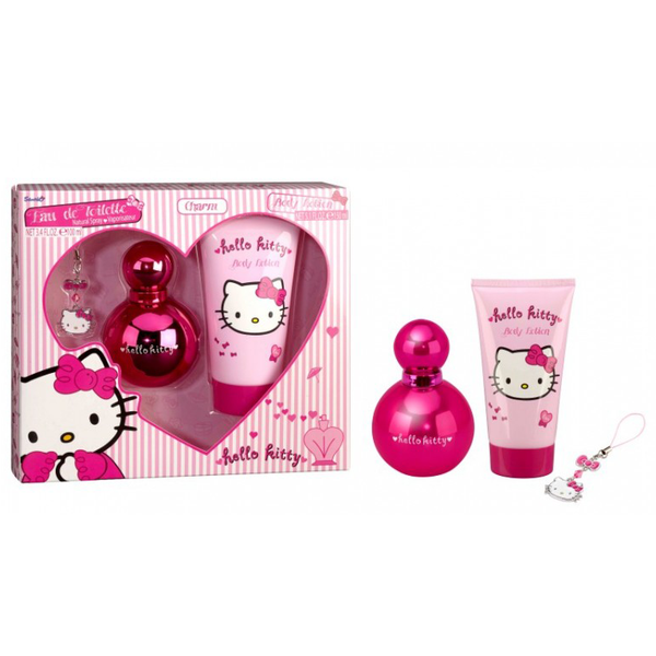 Hello Kitty by Hello Kitty 100ml EDT 3 Piece Gift Set