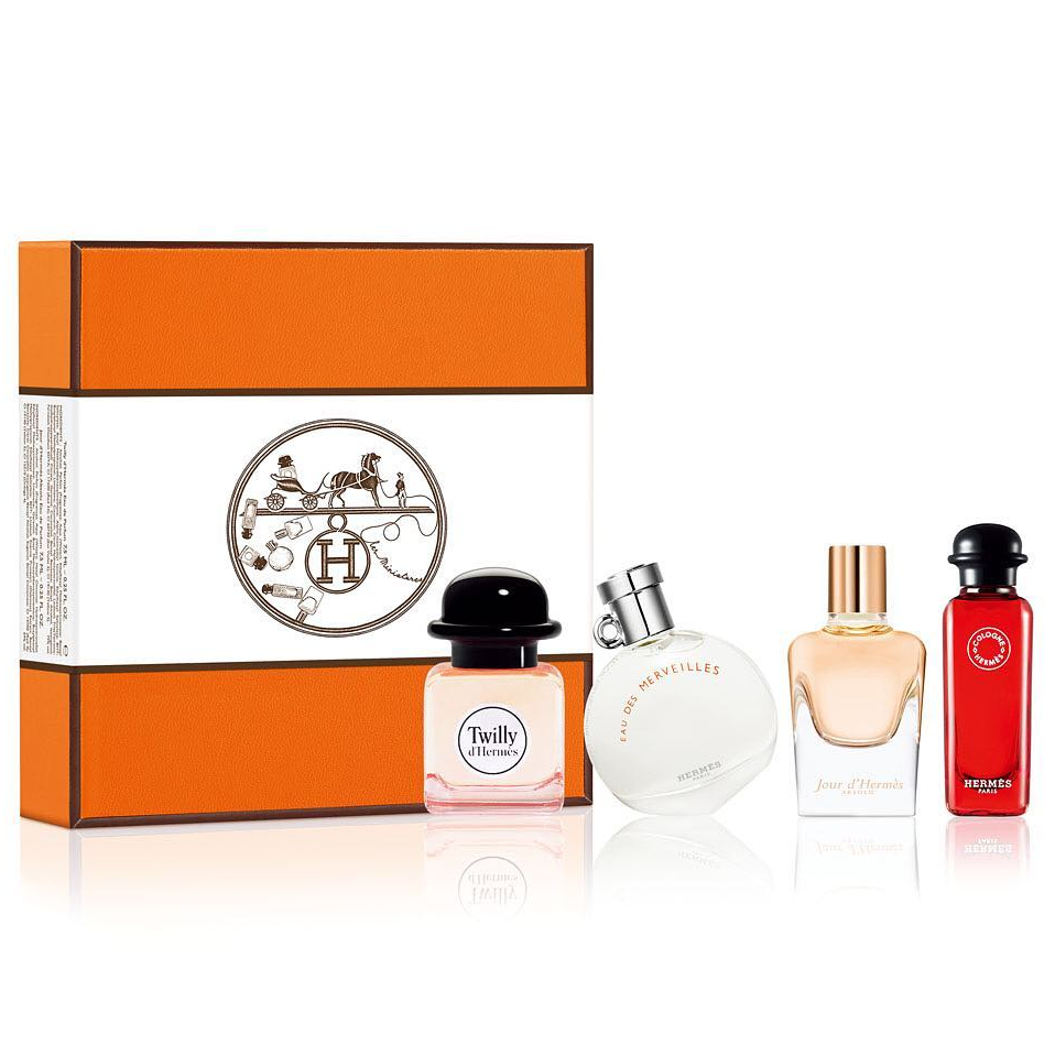 Gift Hermes Perfume Collection Piece 4 Set 0wP8nOk