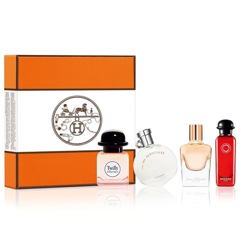 Hermes Perfume Collection 4 Piece Gift Set