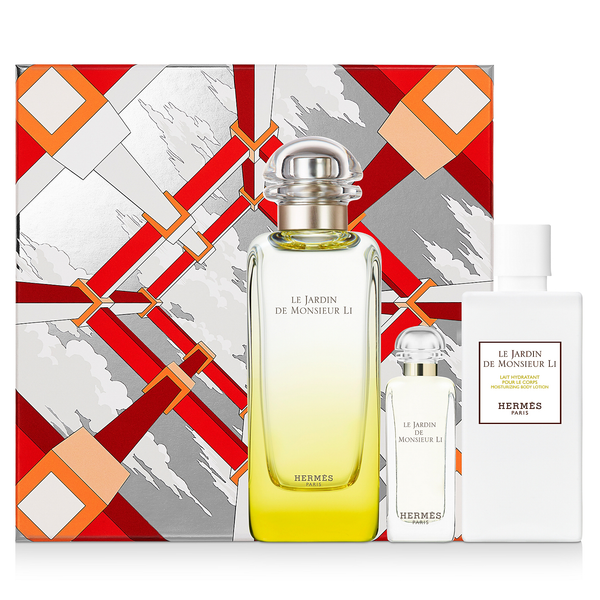 Le Jardin De Monsieur Li by Hermes 100ml EDT 3pc Gift Set