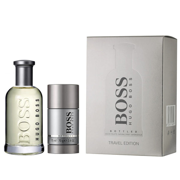 Boss Bottled by Hugo Boss 100ml EDT 2 Piece Gift Set