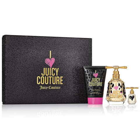 I Love Juicy Couture by Juicy Couture 100ml EDP 3pc Gift Set