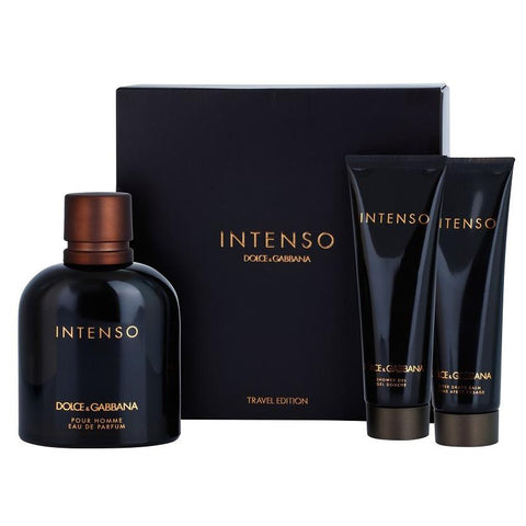 Intenso by Dolce & Gabbana 125ml EDP 3 Piece Gift Set