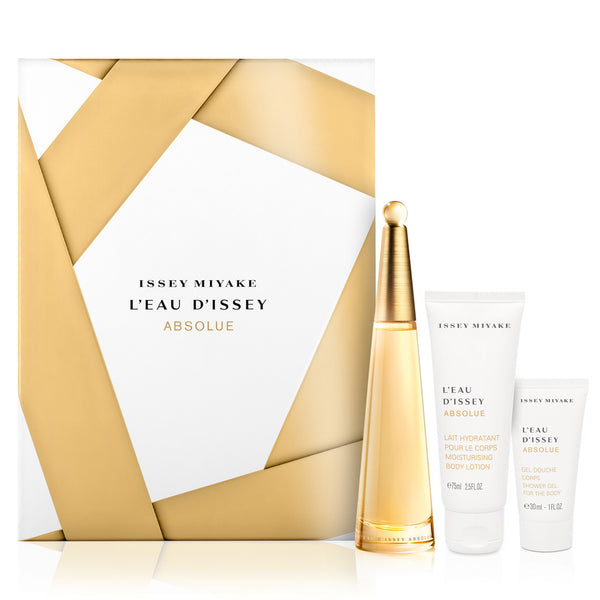 L'Eau D'Issey Absolue by Issey Miyake 50ml EDP 3pc Gift Set