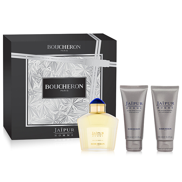 Jaipur Homme by Boucheron 100ml EDP 3 Piece Gift Set