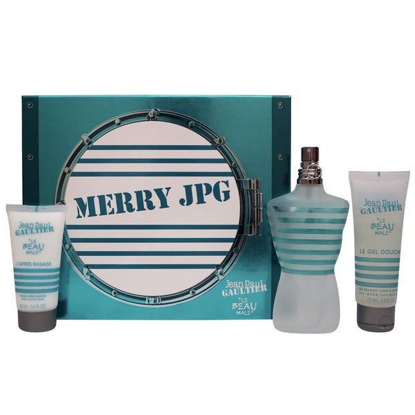 Le Beau Male by Jean Paul Gaultier 125ml 3 Piece Gift Set