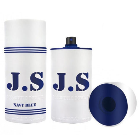 J.S Magnetic Power Navy Blue by Jeanne Arthes 100ml EDT