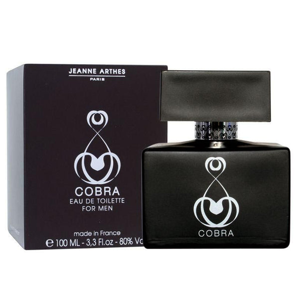 Cobra by Jeanne Arthes 100ml EDT for Men