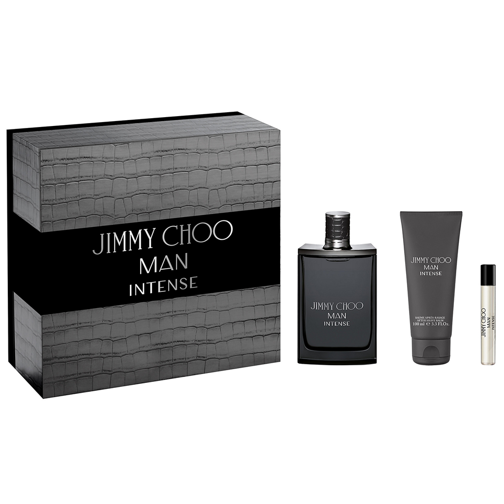 ea23e464455c Jimmy Choo Man Intense 100ml EDT 3 Piece Gift Set
