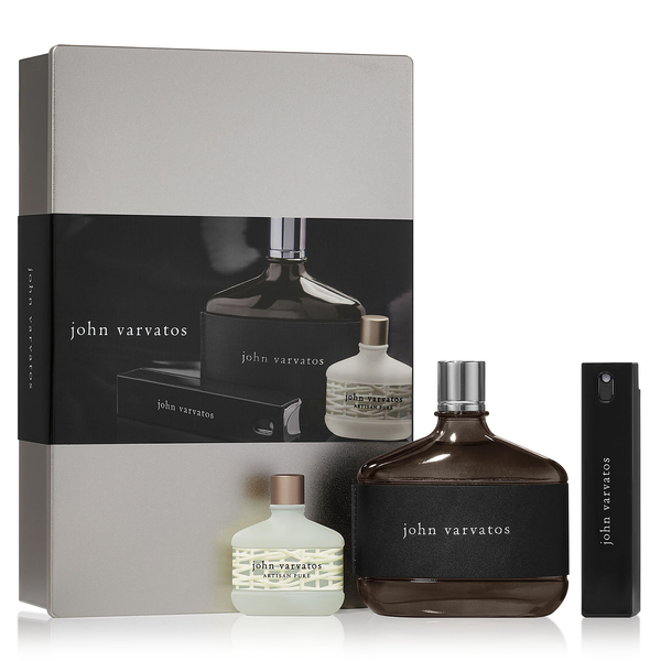 John Varvatos by John Varvatos 125ml EDT 3 Piece Gift Set