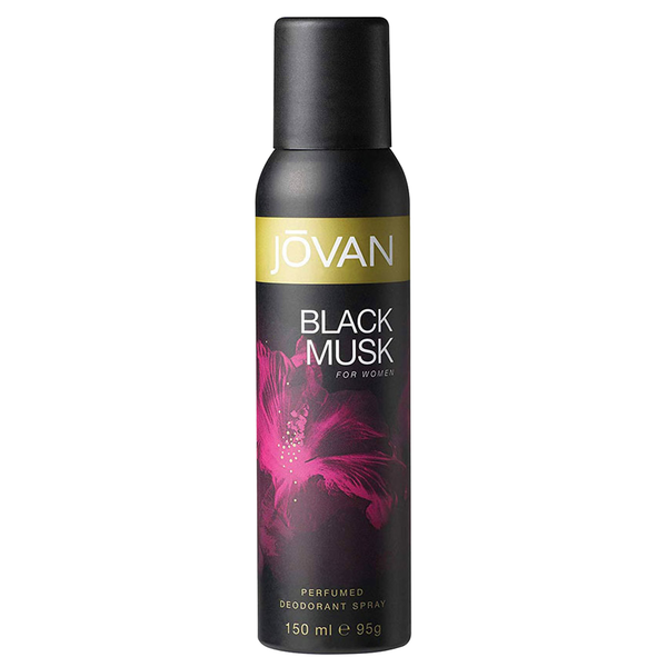 Jovan Black Musk by Jovan 150ml Perfumed Deodorant
