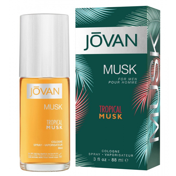Tropical Musk by Jovan 88ml Cologne Spray