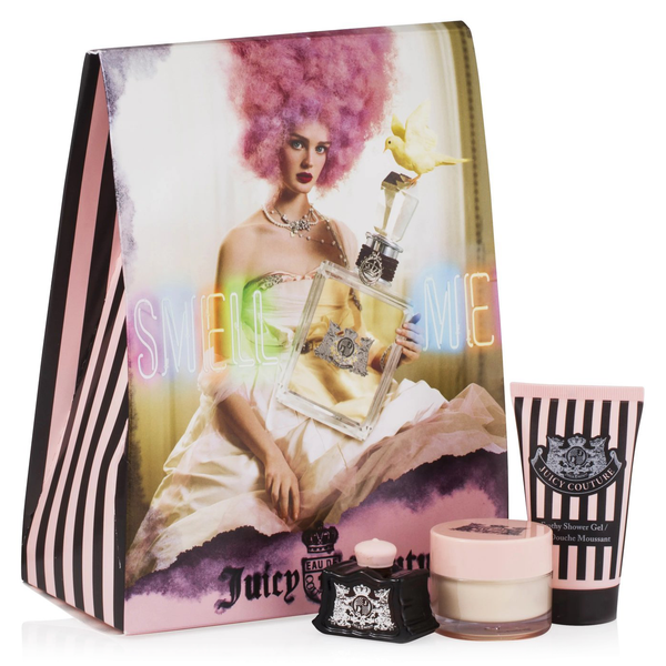 Juicy Couture by Juicy Couture 5ml Parfum 3 Piece Gift Set
