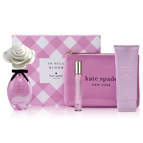 In Full Bloom by Kate Spade 100ml EDP 4 Piece Gift Set