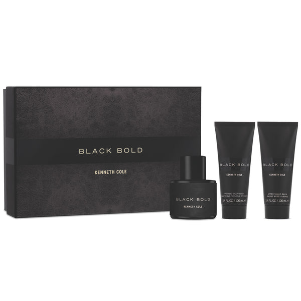 Black Bold by Kenneth Cole 100ml EDP 3 Piece Gift Set