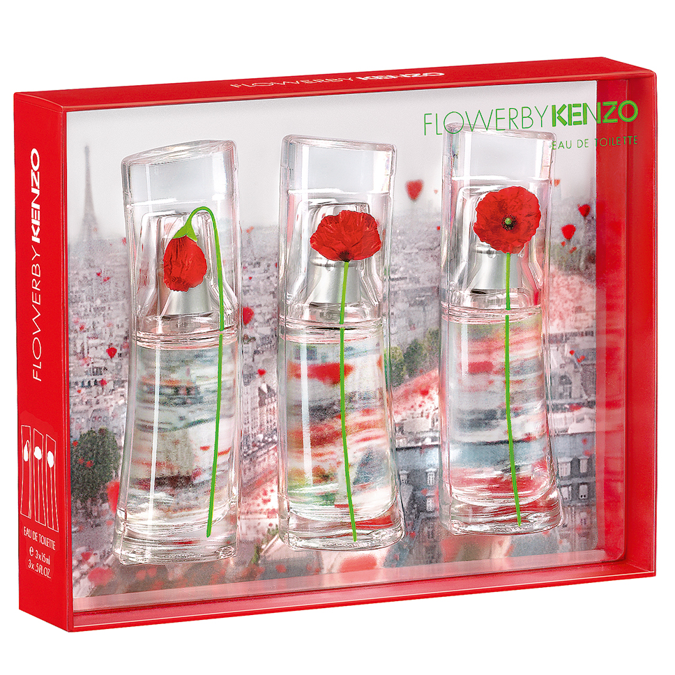 2eb8b317 Kenzo Flower by Kenzo Collection 3 Piece Gift Set | Perfume NZ