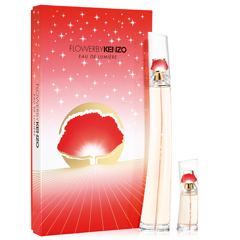Kenzo Flower Eau De Lumiere 100ml EDT 2 Piece Gift Set