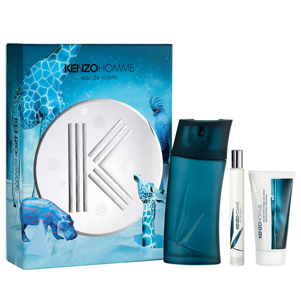 Kenzo Pour Homme by Kenzo 100ml EDT 3 Piece Gift Set