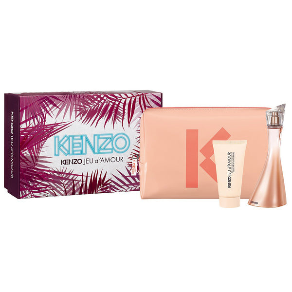 Jeu d'Amour by Kenzo 100ml EDP 3 Piece Gift Set
