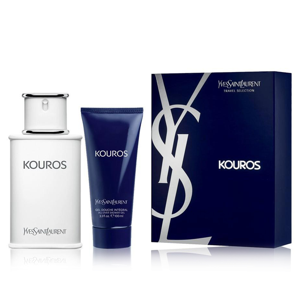 Kouros by Yves Saint Laurent 100ml EDT 2 Piece Gift Set