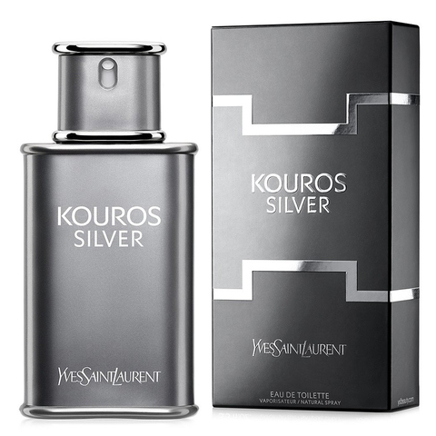 Kouros Silver by Yves Saint Laurent 50ml EDT
