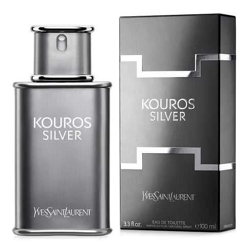 Kouros Silver by Yves Saint Laurent 100ml EDT