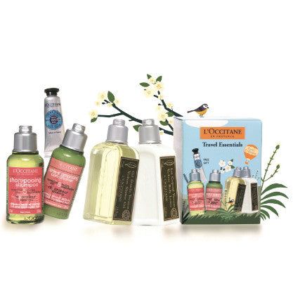 L'Occitane Travel Essentials 5 Piece Set